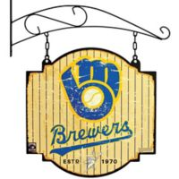 MLB Milwaukee Brewers Tavern Sign