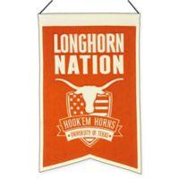 """University of Texas """"Longhorn Nation"""" Banner"""