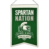 "Michigan State University ""Spartan Nation"" Banner"