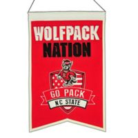 "North Carolina State University ""Wolfpack Nation"" Banner"