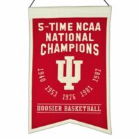 "Indiana University ""5-Time NCAA National Champions"" Banner"