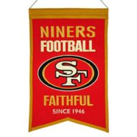 NFL San Francisco 49ers Franchise Banner