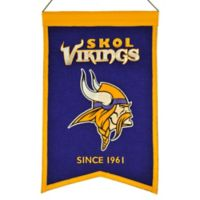 NFL Minnesota Vikings Franchise Banner