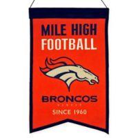 NFL Denver Broncos Franchise Banner