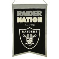NFL Oakland Raiders Franchise Banner