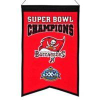 NFL Tampa Bay Buccaneers Super Bowl Championship Banner