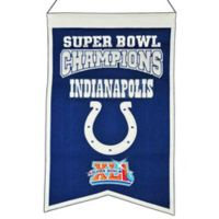 NFL Indianapolis Colts Super Bowl Championship Banner