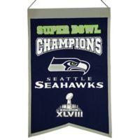 NFL Seattle Seahawks Super Bowl Championship Banner