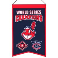 MLB Cleveland Indians World Series Championship Banner