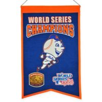 MLB New York Mets World Series Championship Banner