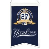 MLB New York Yankees 27X World Series Championship Banner