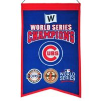 MLB Chicago Cubs World Series Championship Banner