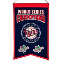 MLB Minnesota Twins World Series Championship Banner