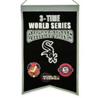 MLB Chicago White Sox 3X World Series Championship Banner