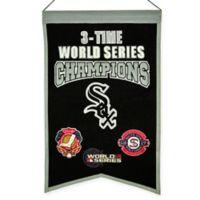 MLB Chicago White Sox 3X World Series Championship Banner