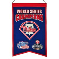 MLB Philadelphia Phillies World Series Championship Banner