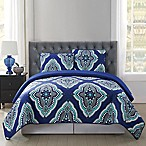 Truly Soft Harper Full/Queen Quilt Mini Set in Blue