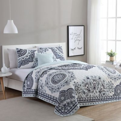 Buy Mint Grey Bedding Set from Bed Bath & Beyond