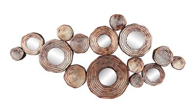 Attractive Moeu0027s Home Collection Circle Cluster Wall Art