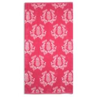 Pink Pineapple Beach Towel