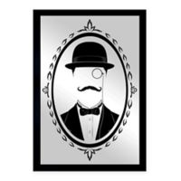 Oliver Gal Small Gentlemanly Framed Printed Wall Art in Black