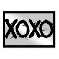 "Oliver Gal 24-Inch x 16-Inch ""Xoxo"" Mirror Art"