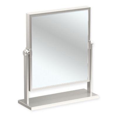 Gatco® 9.75 Inch X 12 Inch Table Mirror In Satin Nickel
