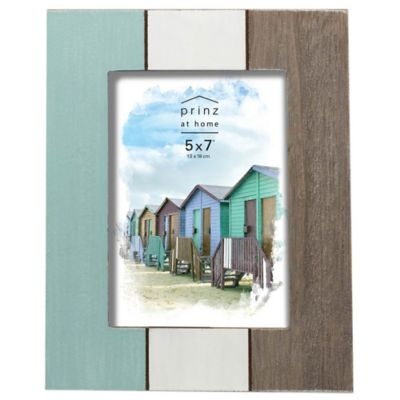 prinz 5 inch x 7 inch multicolor distressed wood picture frame - Distressed Wood Picture Frames