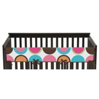 Sweet Jojo Designs Deco Dot Long Crib Rail Cover