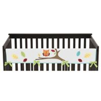 Sweet Jojo Designs Hooty Long Crib Rail Cover