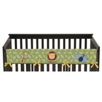 Sweet Jojo Designs Jungle Time Long Crib Rail Cover