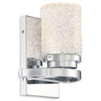 George Kovacs® Brilliant LED 1-Light Bath Light in Chrome