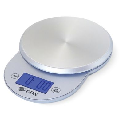 Digital Stainless Steel Food Scale In Silver