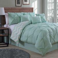 Avondale Manor Ella 7-Piece Queen Comforter Set in Mint