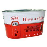 Coca-Cola® Large Galvanized Party Tub