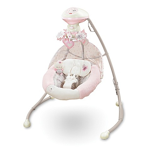 Fisher Price 174 My Little Sweetie Deluxe Cradle Swing