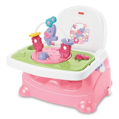 High Chairs U003e Fisher Price® Pretty In Pink Elephant Booster Seat