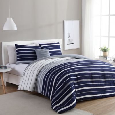 Buy Grey Bedding Sets From Bed Bath Beyond - Blue and grey comforter sets