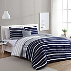 VCNY Home Preston 3-Piece Twin/Twin XL Duvet Cover Set in Navy