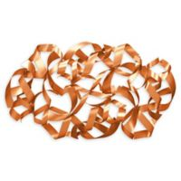 Moe's Home Collection 27.5-Inch x 19-Inch Ribbons Metal Wall Art