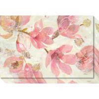 Magnolias in Bloom Canvas Wall Art