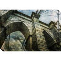 Brooklyn Bridge II (New York) Canvas Wall Art