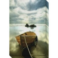 The Old Boat Canvas Wall Art