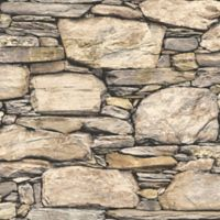 NuWallpaper™ Hadrian Stone Wall Peel and Stick Wallpaper
