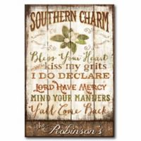 Courtside Market Southern Charm Canvas Wall Art