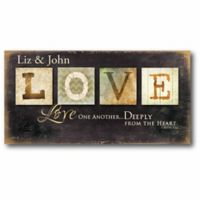 """Courtside Market """"Love One Another"""" Canvas Wall Art"""