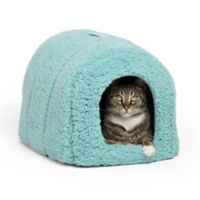 Best Friends by Sheri Pet Igloo in Teal