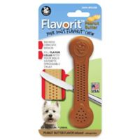 Flavorit® Medium Peanut-Butter-Flavored Nylon Chew Bone in Brown