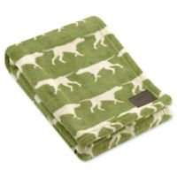 Tall Tails® Fleece Dog Print Pet Blanket in Sage