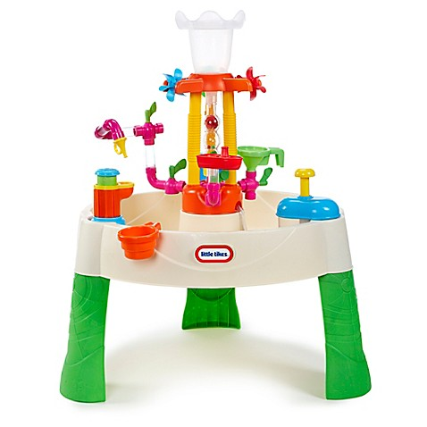 Little tikes fountain factory water table buybuy baby for Little tikes 2 in 1 buildin to learn motor workshop